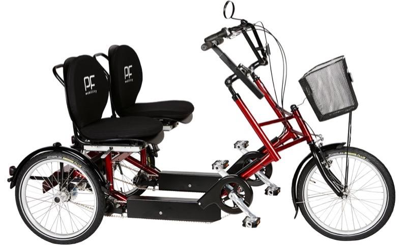 Motiv: Duocykel fra PF Mobility