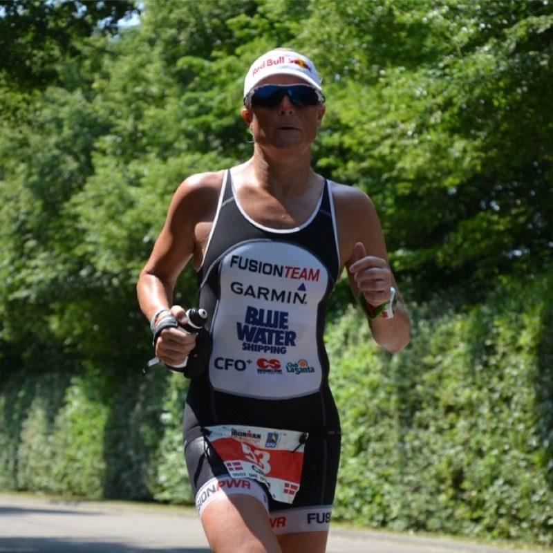 Motiv: Camilla Pedersen i løb